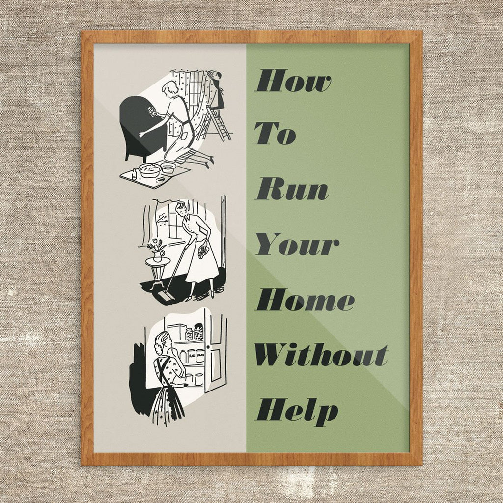How To Run Your Home Without Hep Print