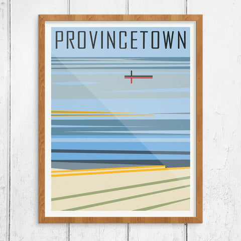 Provincetown Reflections Print