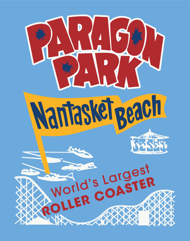 Paragon Park Nantasket Beach Magnet & Greeting Card
