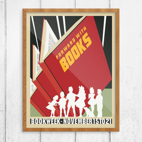 Forward With Books Bookweek Print