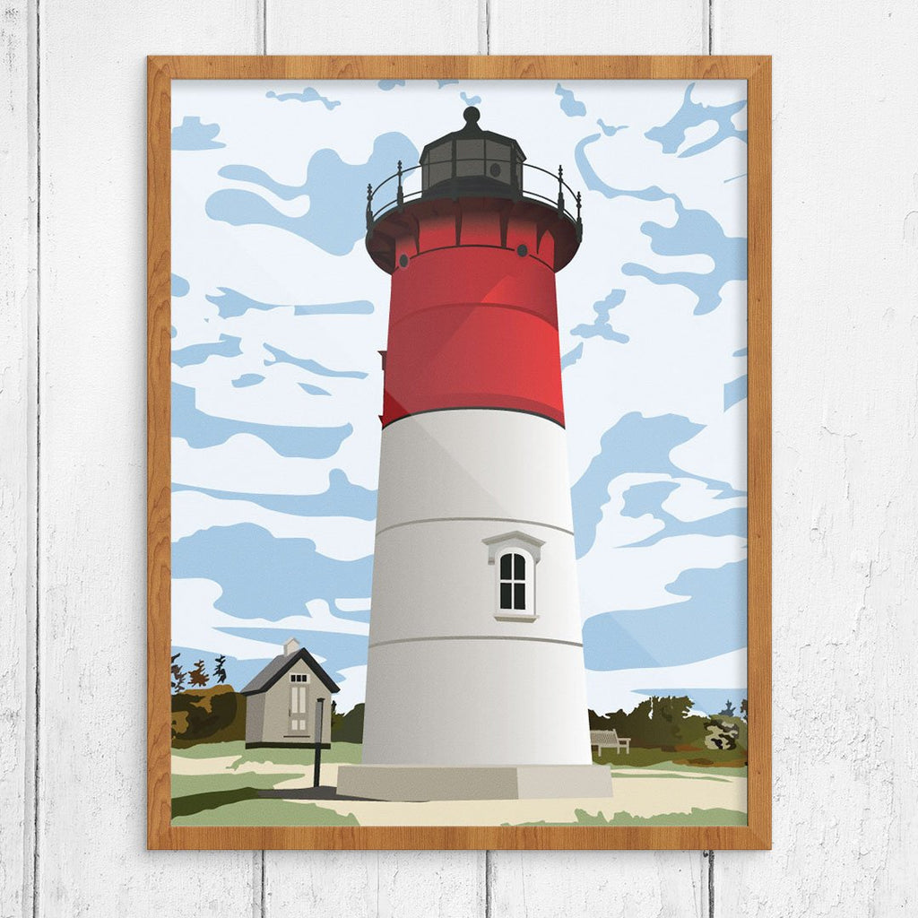 Nauset Lighthouse Eastham, MA 11 x 14 Print