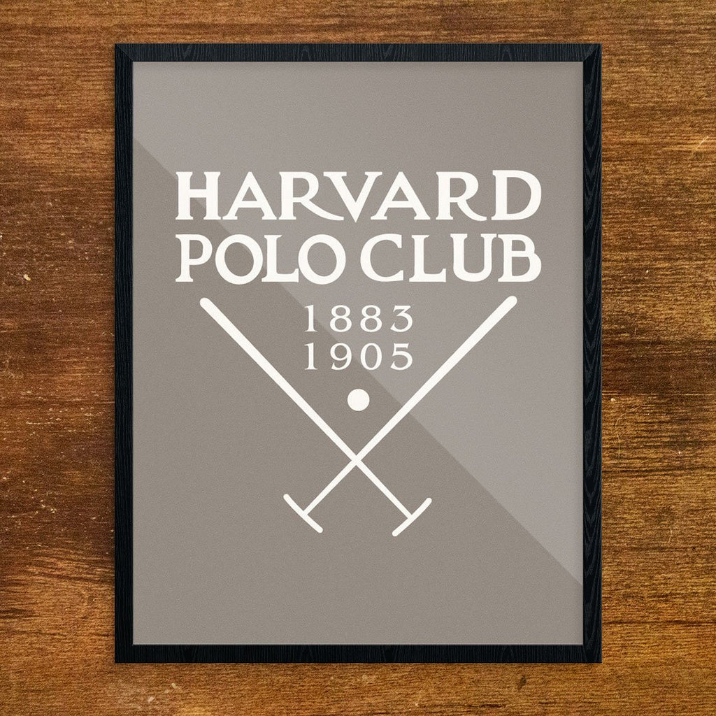 Harvard Polo Club Print