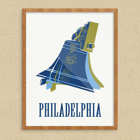 Philadelphis Ringing Liberty Bell Print