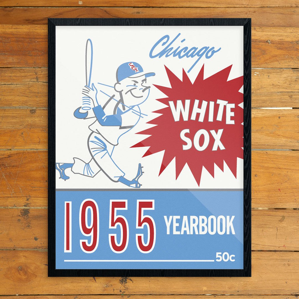 Chicago White Sox 1955 Yearbook Cover Print
