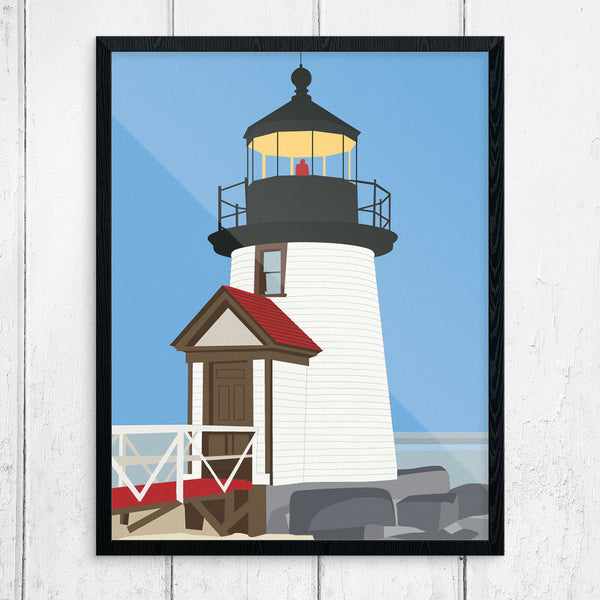 Brant Point Nantucket Lighthouse 11 x 14 Print