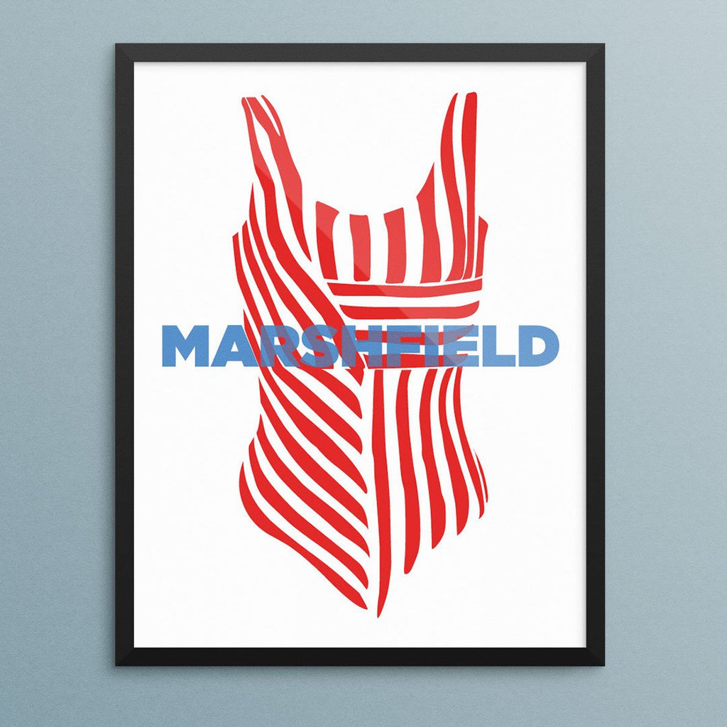 Marshfield Bathing Suit Print