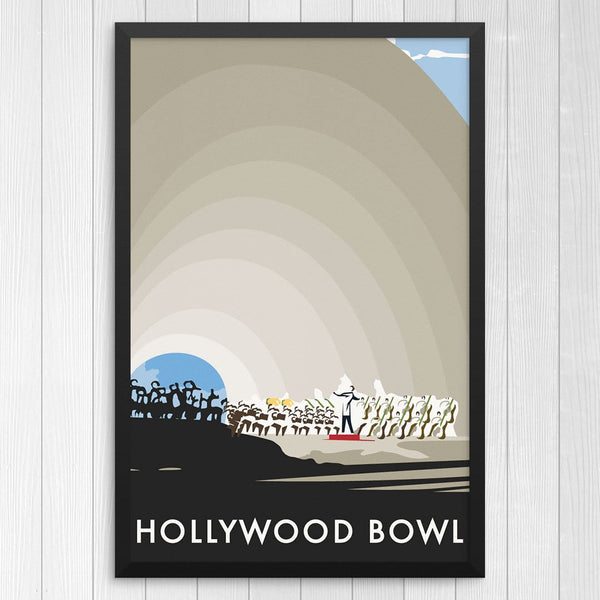 Hollywood Bowl Orchestra Print