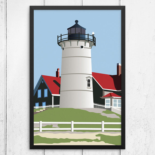 Nobska Light Woods Hole 12 x 18 Print