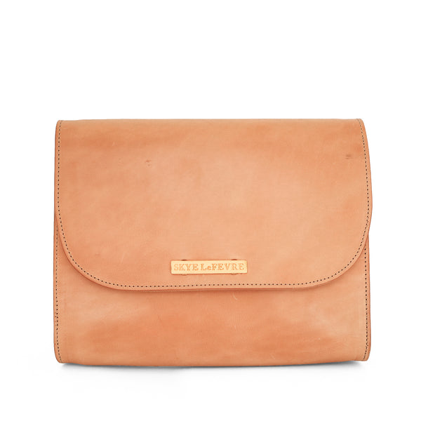COMING SOON! Vegetable Tanned Leather Crossbody Bag