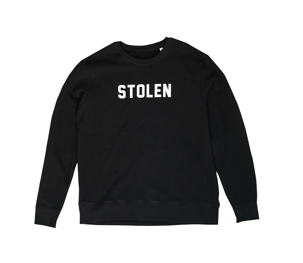 Black Crew Neck - Stolen Riches / CA