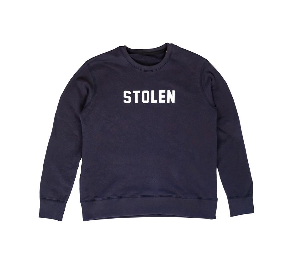 Blue Crew Neck - Stolen Riches / CA