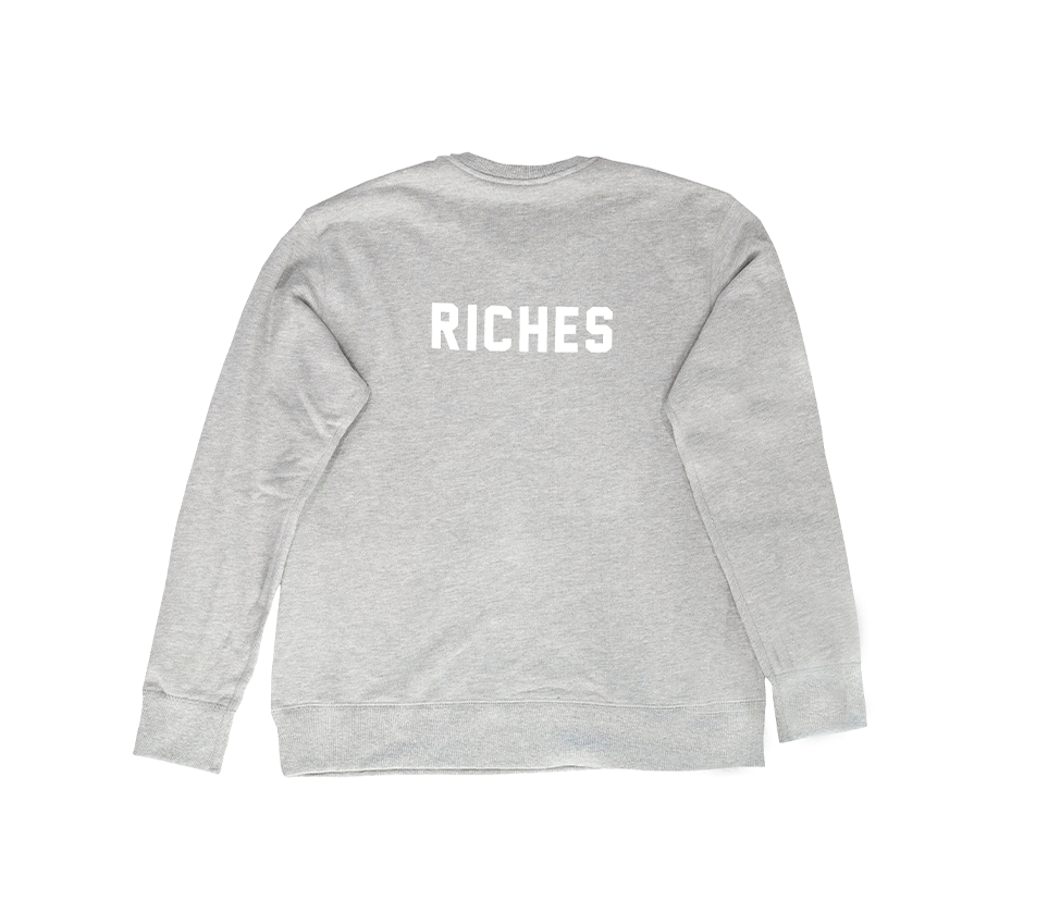 Grey Crew Neck - Stolen Riches / CA