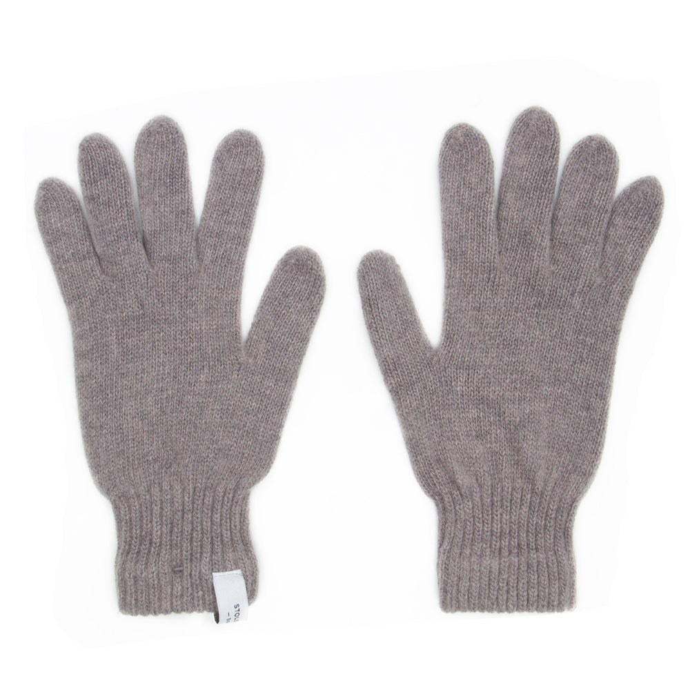 Manchester Grey Wool Gloves - Stolen Riches / CA