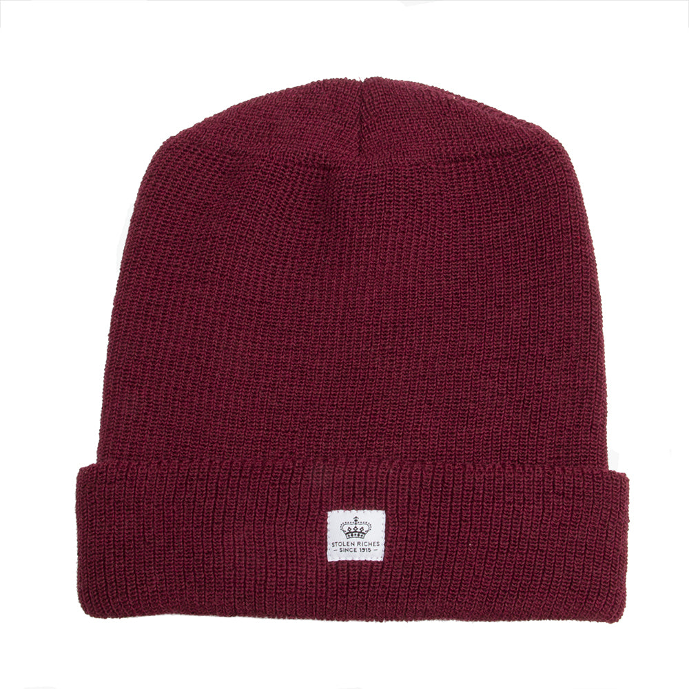 Der Alte Burgundy Wool Toque - Stolen Riches / CA