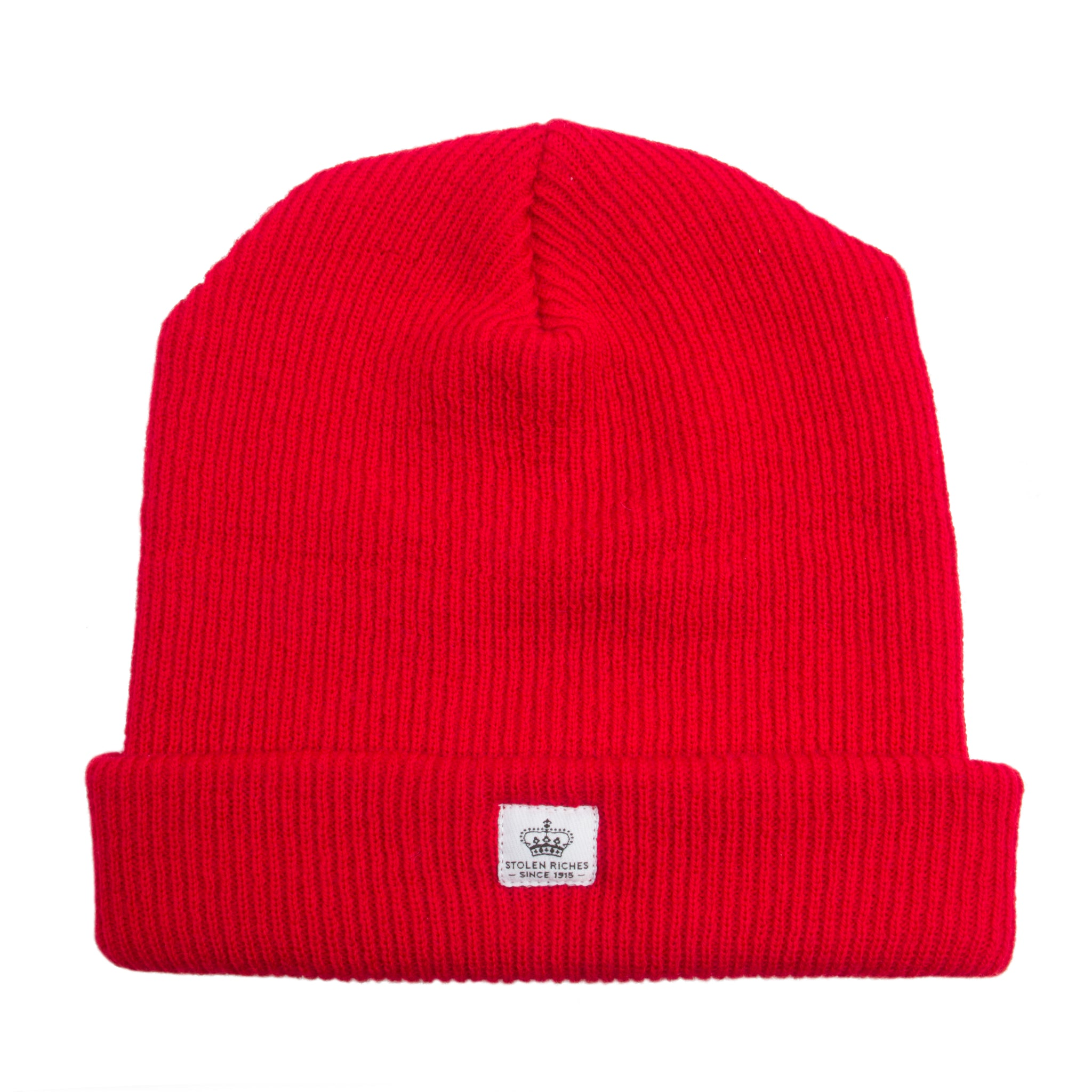 Portsalon Red Wool Toque - Stolen Riches / CA