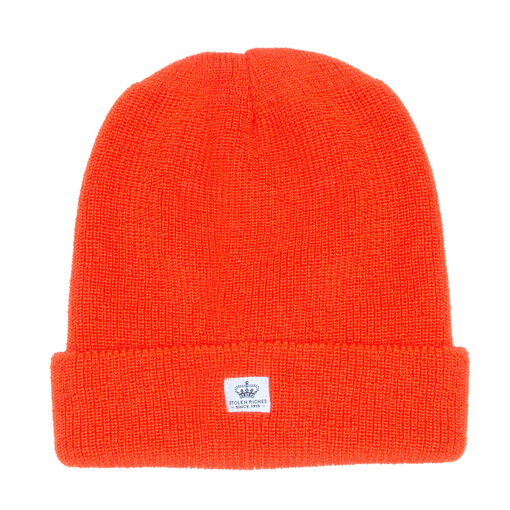 Tiqui Orange Wool Toque - Stolen Riches / CA