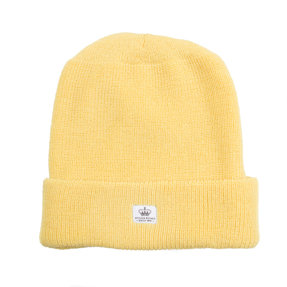 Yum Yum Yellow Wool Toque - Stolen Riches / CA