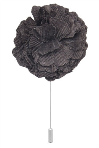 Cotton Lapel Pin - Dark Slate Grey - Stolen Riches / CA