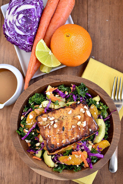 Kale & Salmon Salad