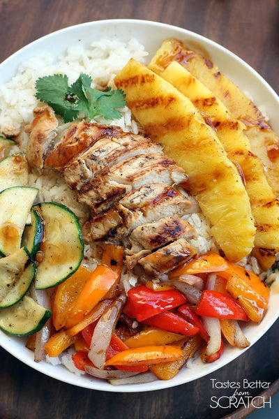 Grilled Hawaiian Bowl