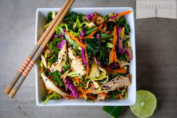 Asian Crunch Chicken Salad