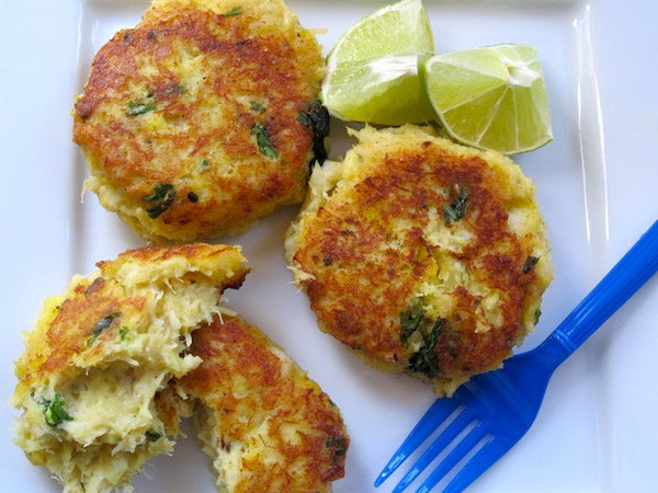 Zesty Lemon Dill Fish Cakes