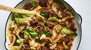 Beef & Cabbage Skillet
