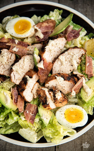 Sabrina's Chicken & Turkey Bacon Caesar Salad