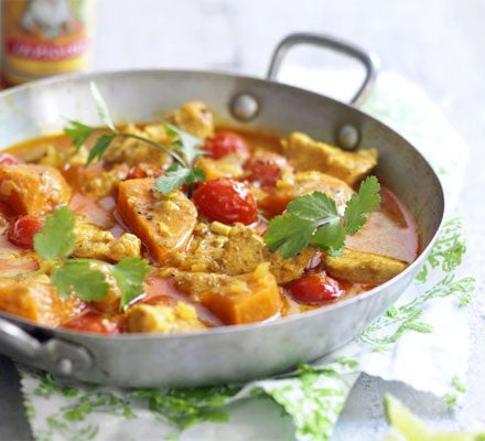 Kabocha Squash & Chicken Red Curry