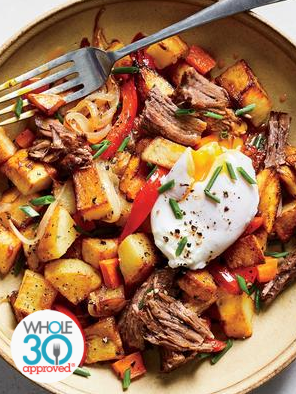 Roast Beef  Breakfast Hash