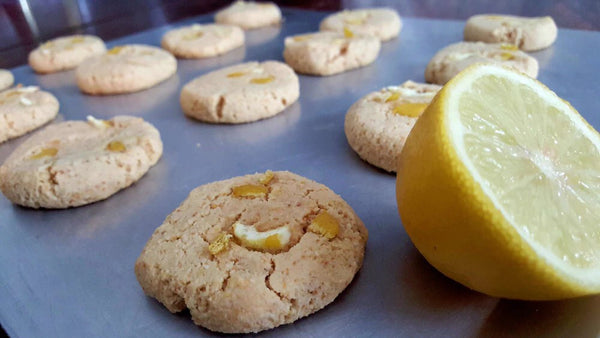 Tea-Rex Paleo Lemon Cookies