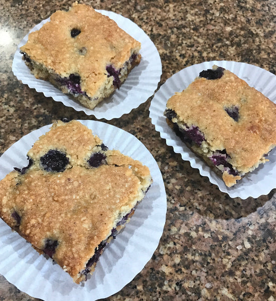 Blueberry Scones Bars