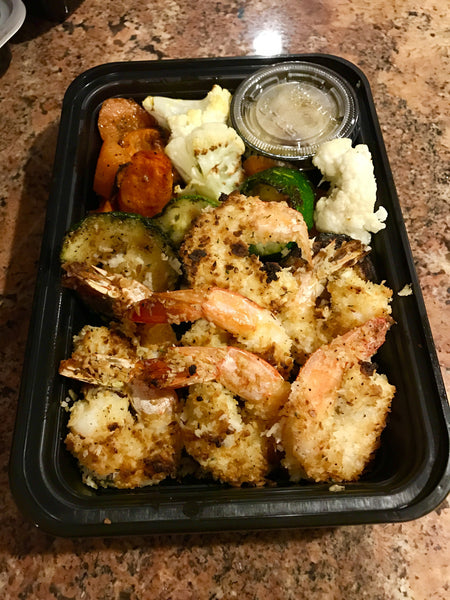 Baked Coconut Shrimp (Drashrimp)
