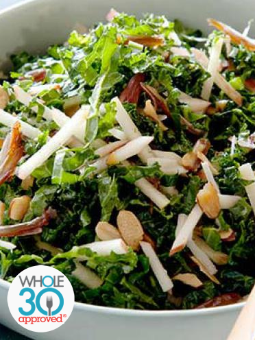 Kale & Apple Salad With Grilled Chicken