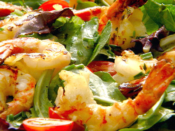 Grilled Citrus Shrimp Salad