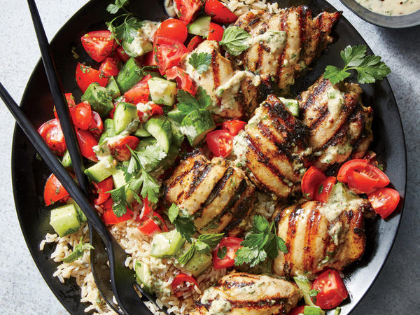 Tahini Marinated Chicken