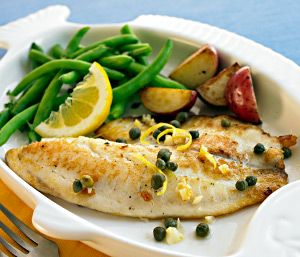 Baked Fish & Veggies