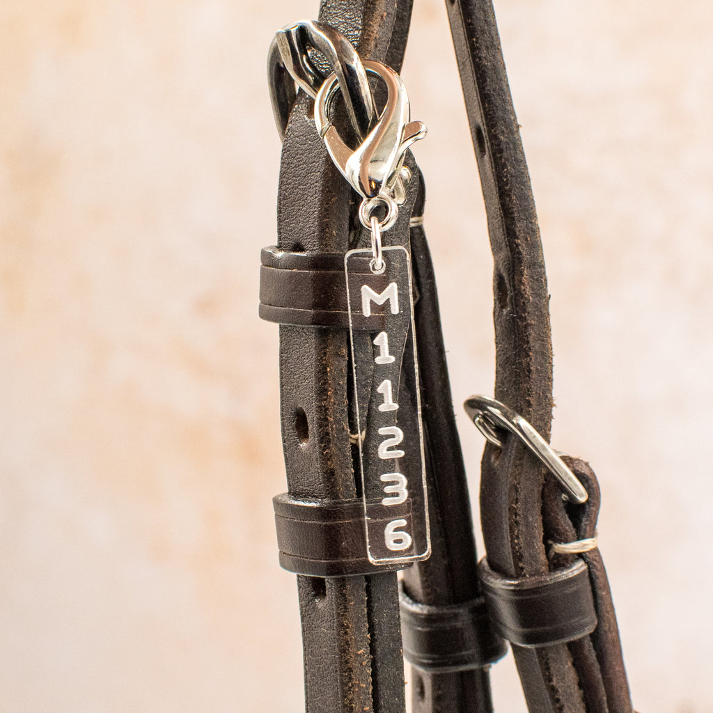 Racing Tattoo Bridle Charm