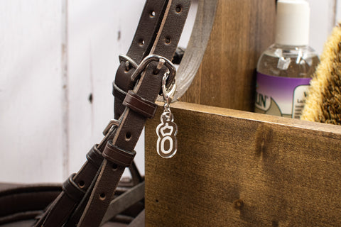 Warmblood Breed Logo Bridle Charms