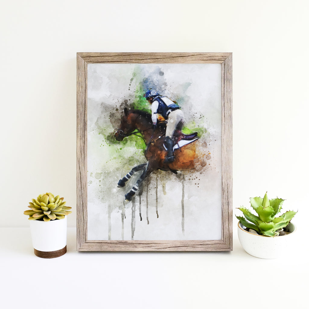 "Eventing Print (Vertical 8""x10"")"