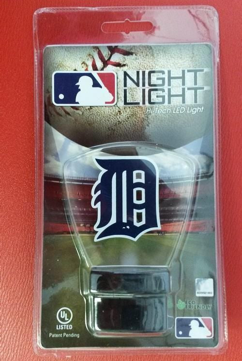MLB Licensed Detroit Tigers Night Light  Energy Saver