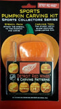 NHL Detroit Red Wings Halloween Pumpkin Carving Kit - Hockey Cards Plus LLC