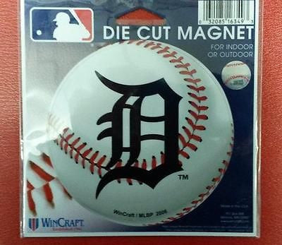 "MLB Detroit Tigers Die Cut Magnet 4.5"" x 6"" - Hockey Cards Plus LLC"
