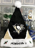 NHL Pittsburgh Penguins Santa Hat - Hockey Cards Plus LLC