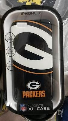 NFL Green Bay Packers Sports XL Iphone 6 Case - Hockey Cards Plus LLC