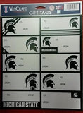 NCAA Michigan State Spartans Gift Tags - Hockey Cards Plus LLC