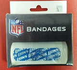 NFL Detroit Lions Licensed Bandaids / Bandages - Hockey Cards Plus LLC