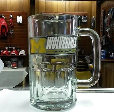 NCAA Michigan Wolverines 20oz Rootbeer Mug - Hockey Cards Plus LLC