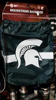 NCAA Michigan State Spartans Team Drawstring Backpack - Hockey Cards Plus LLC