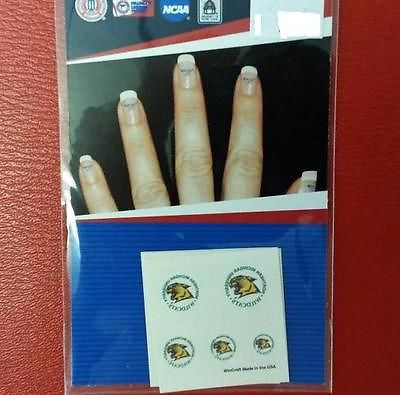 NCAA Northern Michigan Wildcats Fingernail Tattoos - Hockey Cards Plus LLC
